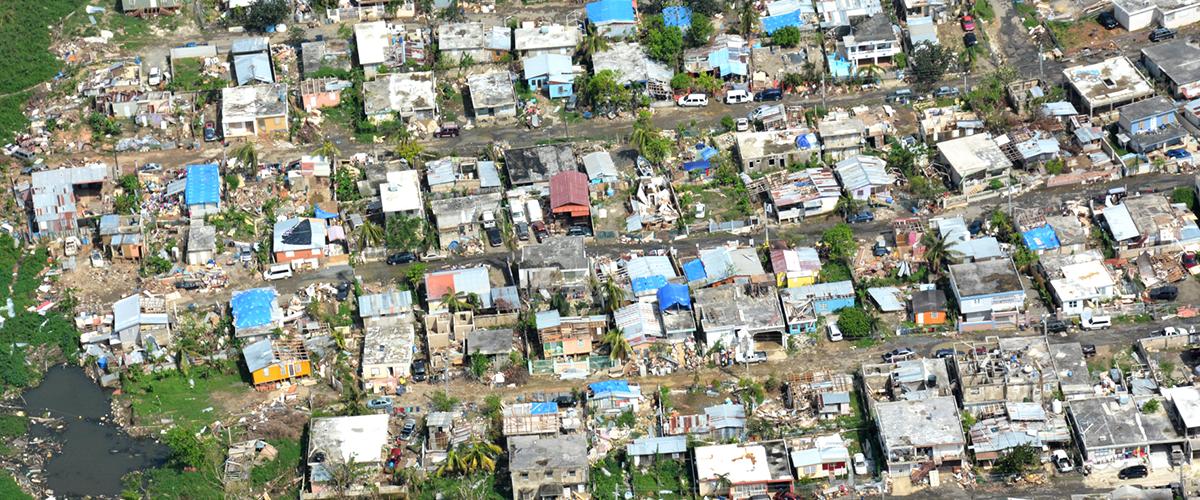 El desastre desde el aire: daños y lecciones urgentes de María