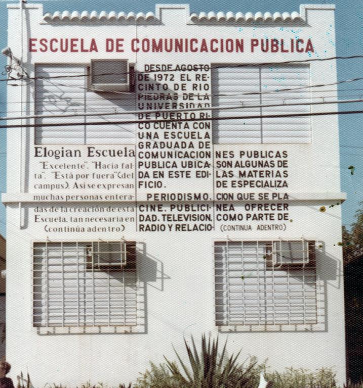 Primera Sede de COPU