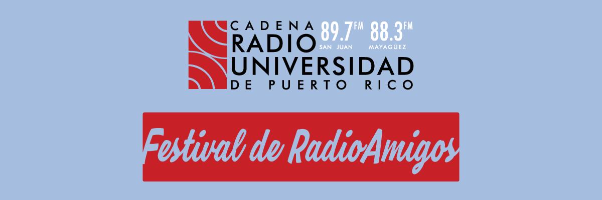 Festival RADIOAMIGOS. Del 8 al 11 de noviembre