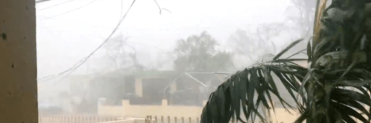 Santa Isabel después del huracán María