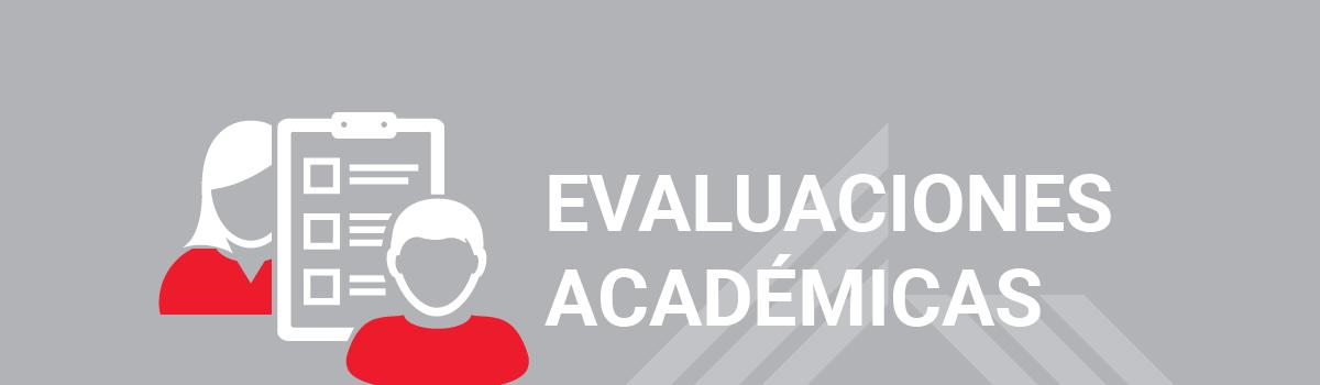 Evaluaciones Académicas